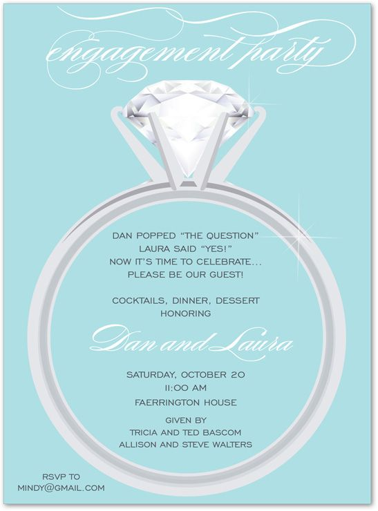 8 best Engagement Party images on Pinterest Wedding stuff - engagement invite templates