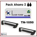 2 TONER BROTHER TN1050 (no original) , Diseñado para:Brother DCP 1510, 1512, 1512A Š Brother HL-1110, 1112A Š Brother MFC 1810 Š Brother P-Touch PT-1810, dcp1610w