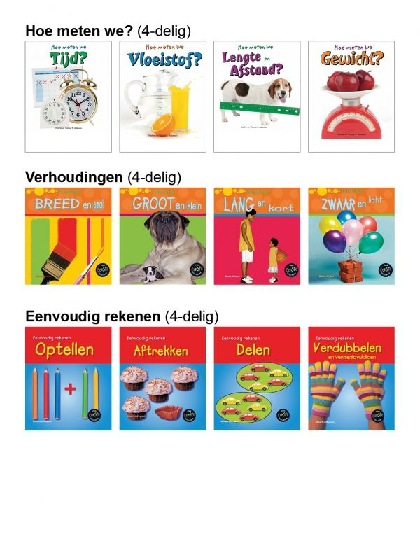 Informatief Lezen - Voordeelpakket Rekenen 6+ (12-delig)
