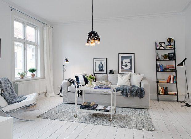 Salon w stylu skandynawskim [ZDJĘCIA]