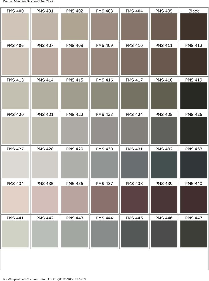 20 best Pantone images on Pinterest At home, Canvas and Colors - sample pantone color chart