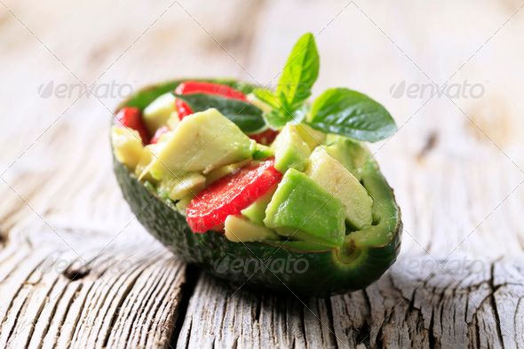 Avocado-Peeling zur Gewichtsreduktion