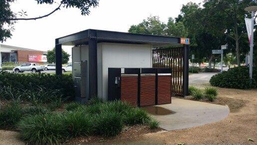 Northshore Hamilton, Brisbane. Public toilets with waste management