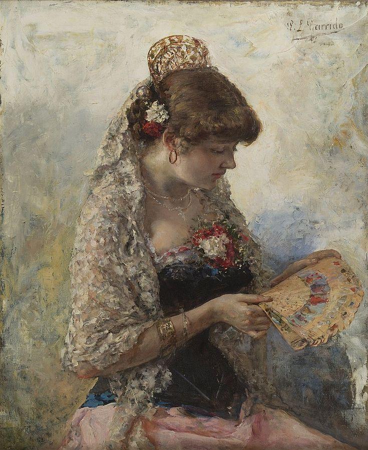 EDUARDO LEON GARRIDO (SPANISH 1856-1949)La