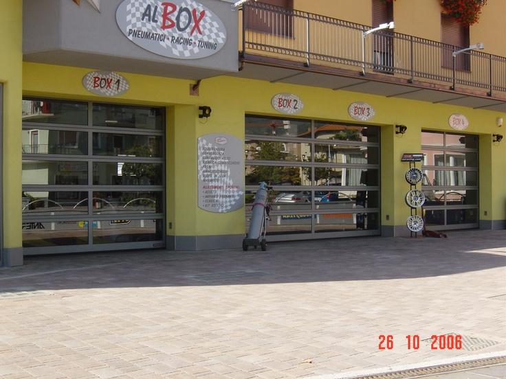 Chiusure Hörmann anche per il Gommista di Pergine Trento http://www.hormann.it/portoni-industriali/