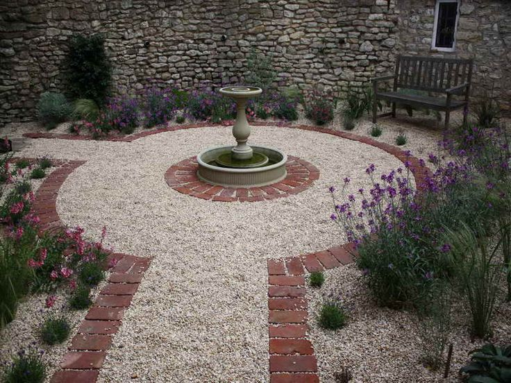 17 best ideas about brick courtyard on pinterest paver for Outdoor courtyard design ideas