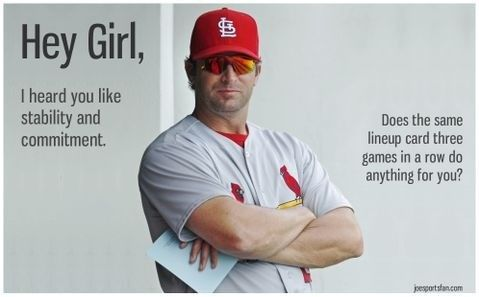oh Matheny :)St Louis, Cardinals National, Cardinals Magic, Sports, Hey Girls, Stl Cardinals, Cardinals Baseball, Louis Cardinals, Mike Matheny