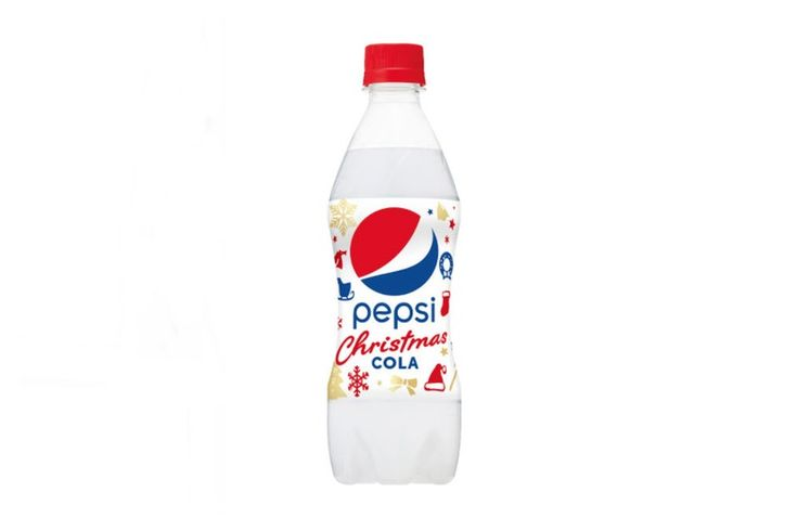Pepsi Christmas Cola Cake Flavor Japan holiday sponge spongecake japanese taste soda drink beverage strawberry whip cream