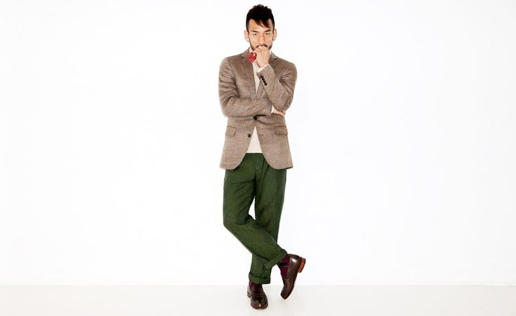 Nice trousers
