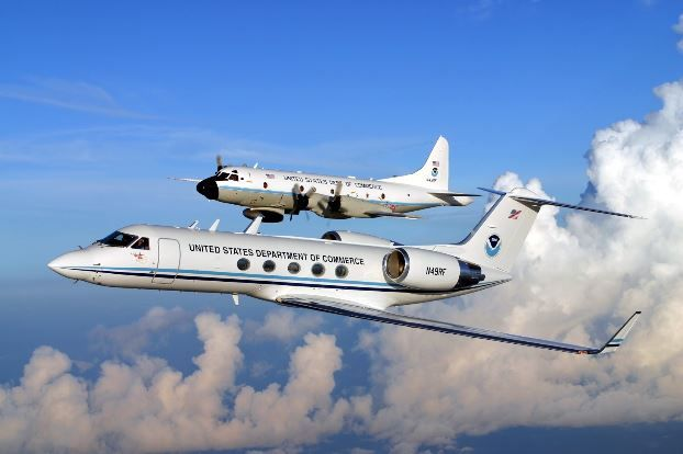Flying Through the Eye of the Storm: NOAA Hurricane Hunters