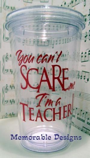 Vinyl ideas | Cricut - ideas vinyl / Teacher Tumbler Personalized Acrylic tumbler by terry