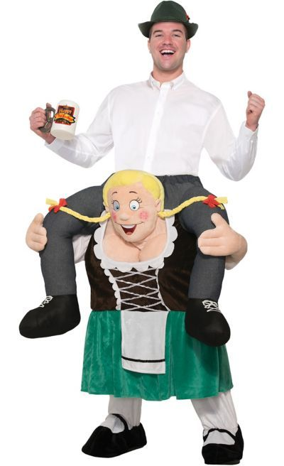 73261d4d012 Adult Beer Maiden Ride-On Costume in 2019 | Oktoberfest Decorations ...