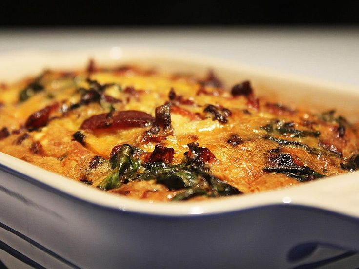 Solo: Bacon & Spinach Quiche