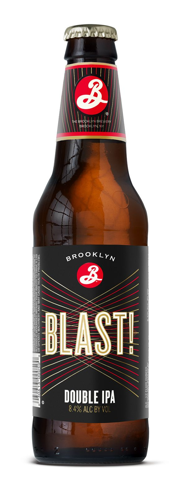 Milton Glaser creates new look for Brooklyn Brewery's BLAST! IPA