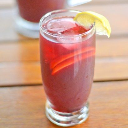 Blueberry Rooibos Iced Tea is a caffeine free tea with a hint of blueberry. This iced tea recipe is not only light and refreshing but also healthy-exchange sugar for honey
