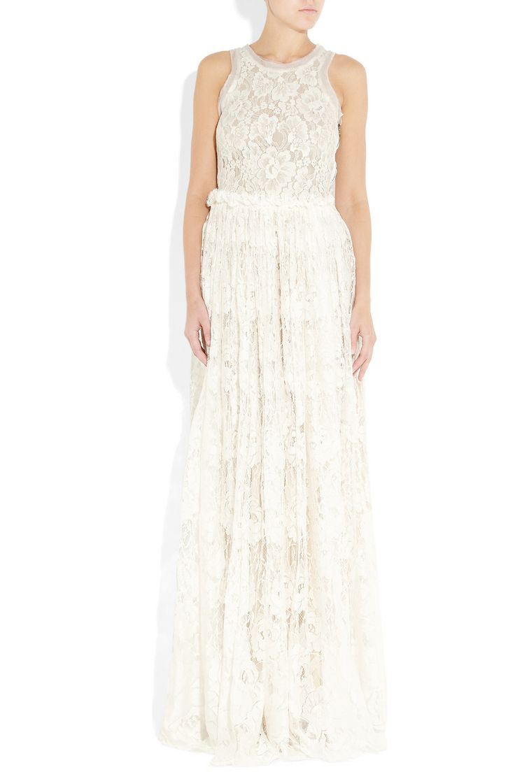 Lace Has Always Been A Beautiful Bridal Choice And Lanvin