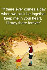 Whimsical Raindrop Cottage - daily-disney: Winnie the pooh quotes.
