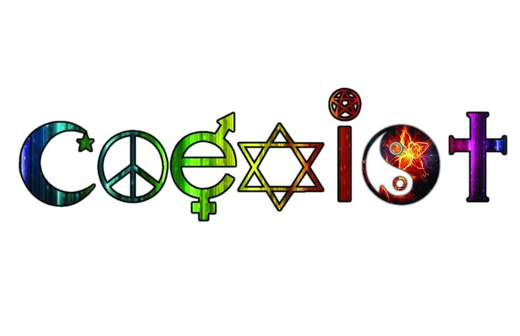 I know this logo is overused but I think it's good to remind people to practice tolerance and respect.
