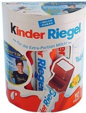 Kinder riegel chocolate sticks 10 s by ferrero
