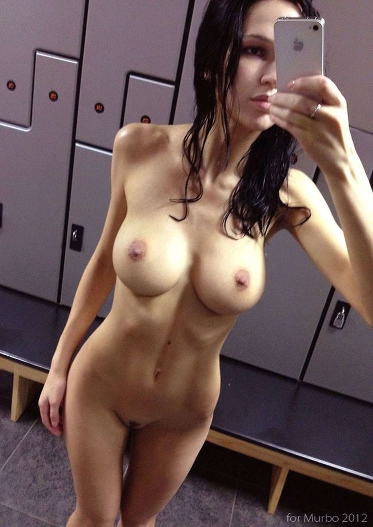 Girls nude in gym shower