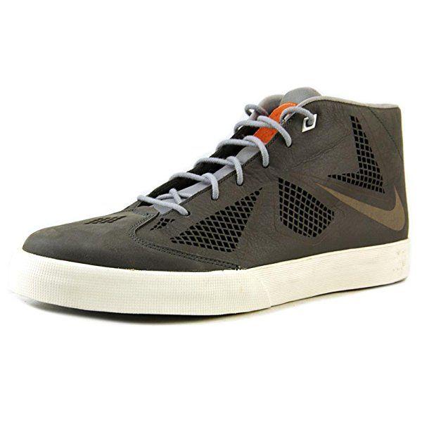 Nike Men's Lebron X NSW Lifestyle NRG, NGHT STDM/NIGHT STDM-STDM GREY-S, 9.5 M US