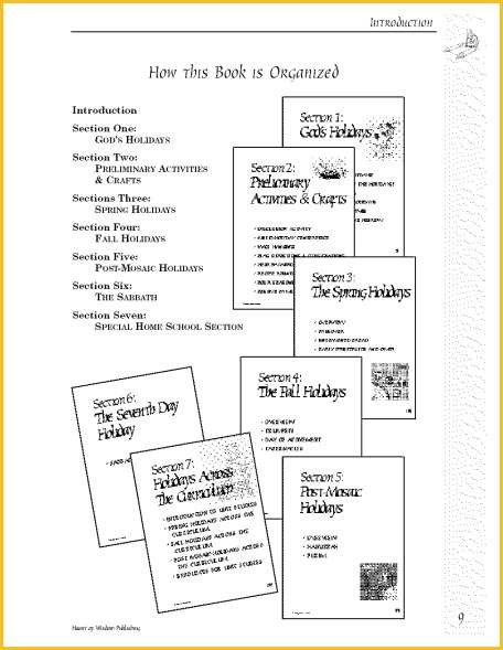 A Family Guide to the Biblical Holidays Ebook by DigiScrapDelights