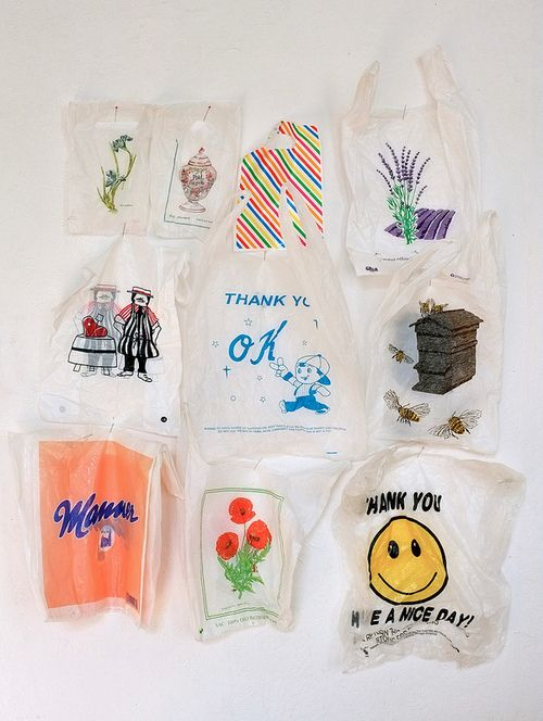 As much as I want to see an end to the blight that accompanies the plastic bag, this collection has a nostalgia.
