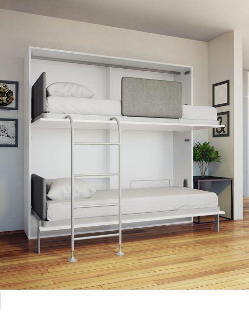 Hover Horizontal Queen Murphy Bed Desk Contenedores In