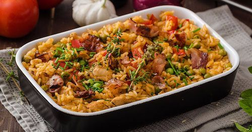 Amazing Louisiana Spicy Chicken & Rice
