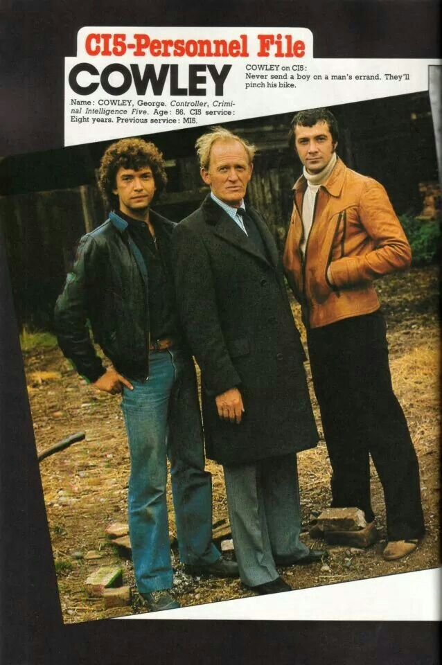 The Professionals, with Martin Shaw, Gordon Jackson and Lewis Collins, 1977-83