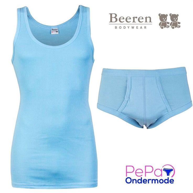 Op de Haagse Markt kraam 4.30/4.31 en op de markten in Delft hebben wij de collectie van Beeren Bodywear voor mannen en vrouwen maar ook in onze webshop staat de gehele collectie van Beeren Bodywear.  De mooie hemden zijn in verschillende kleuren verkrijgbaar en matchen met de slips en boxershorts.  Deze lichtblauwe set geeft je toch een zomergevoel.   #pepaondermode #beerenbodywear #man #vrouw #ondergoed #hemden #slips #boxershorts #kleuren #men #woman #underwear #menfashion #ladiesfashion…
