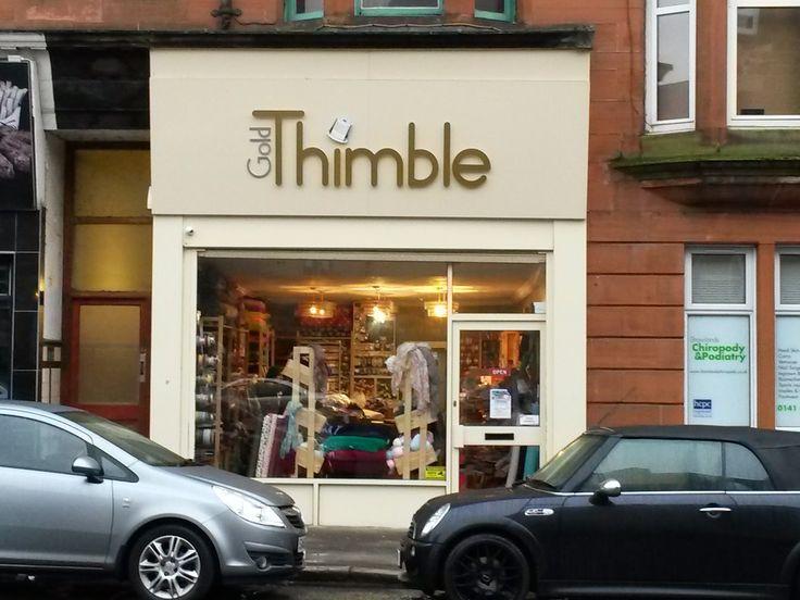 Kestrel Makes: Shop Review: Gold Thimble, Glasgow