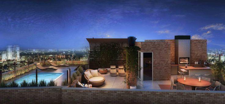 terraço com piscina e churrasqueira - Pesquisa Google