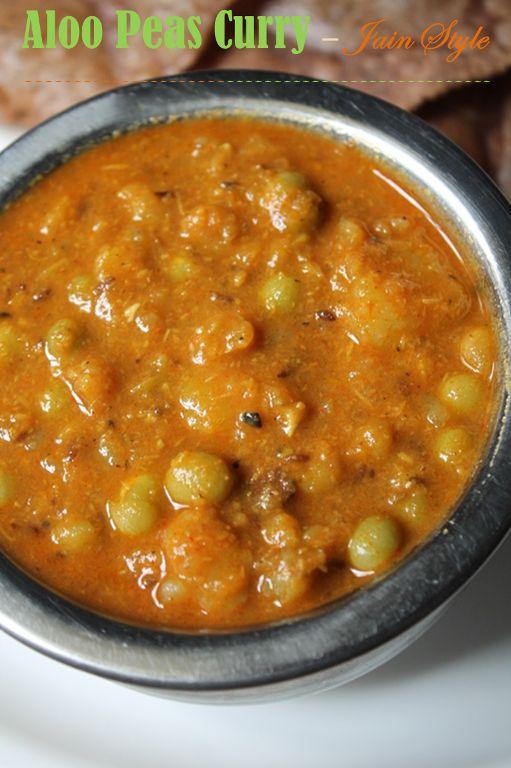 45 best food jain recipes images on pinterest jain recipes aloo peas curry recipe aloo matar recipe jain version forumfinder Image collections