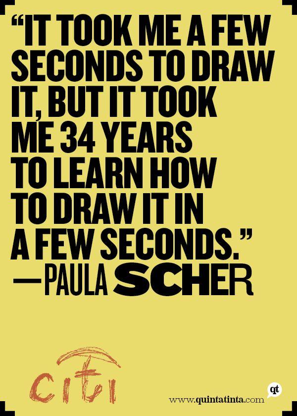 Paula Scher on Citigroup Logo