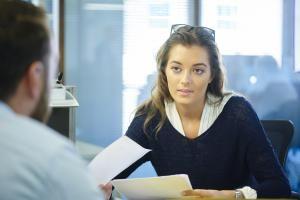 teen job interview - Sturti/E+/Getty Images