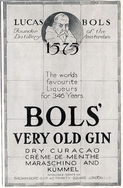 Much better than normal gin is... 'very old gin'