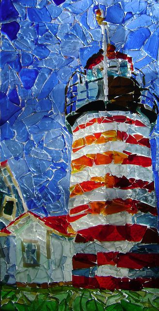 sea glass pictures  | Sea Glass Lighthouse | Flickr - Photo Sharing!