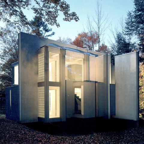 HOUSE VI; Connecticut, Estados Unidos; 1975; Peter Eisenman