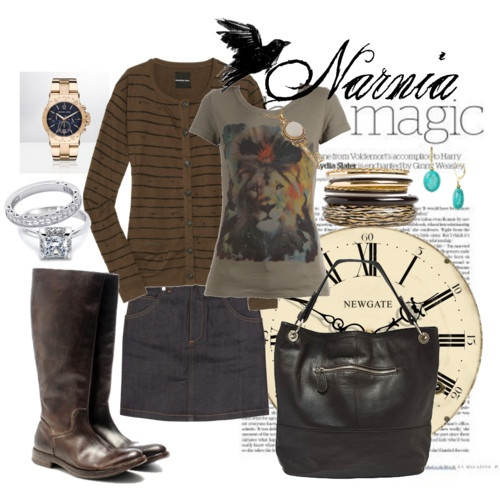 Chronicles of Narnia themed outfit!! Why oh WHY have I not done this before!