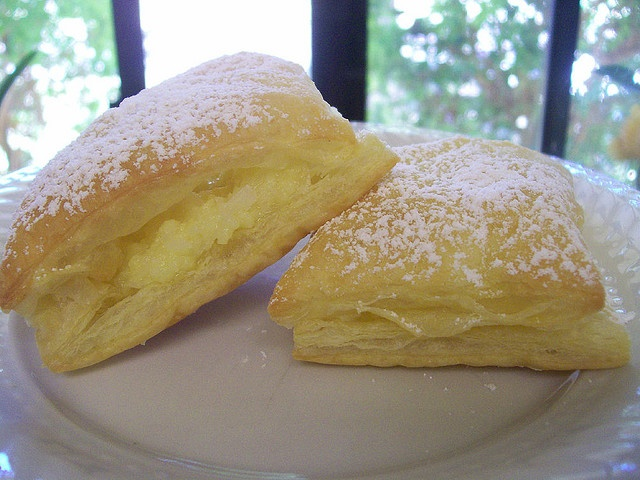 Coconut pastries (Portuguese dessert) Watch the filling close when cooking. And I need to work on this and make the filling thicker but otherwise, these tasted awesome.