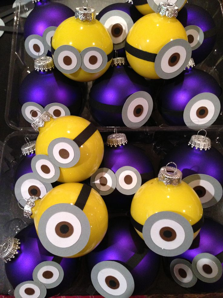 diy minion ornaments 279 best christmas deco images on dcor