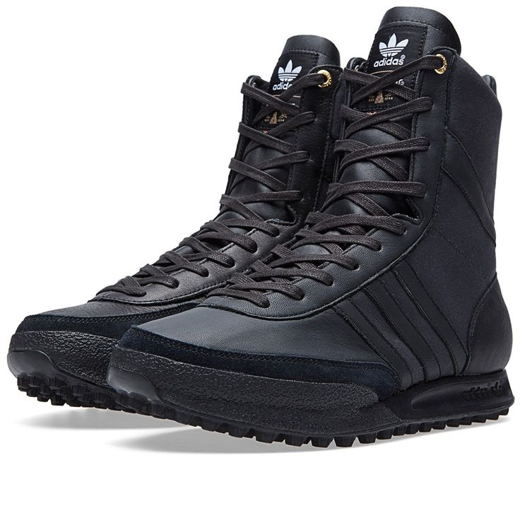 Reintroducing the legendary GSG9 combat boot, originally created for German's same named special forces. Soft black nappa leather and Barbour waxed