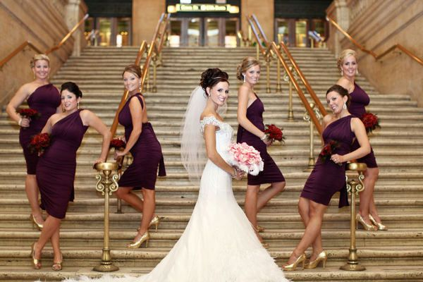 Chicago New Years Eve Wedding From Robyn Rachel Photography Featured On Style Me Pretty Pinterest Bridesmaid Dresses And