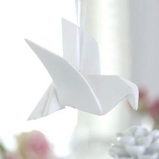 Origami Dove Ornament