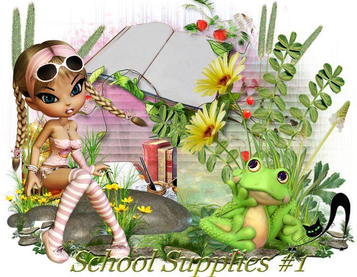 Школьные принадлежности #1 School Supplies #1. Обсуждение на LiveInternet - Российский Сервис Онлайн-Дневников