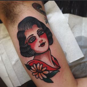 It's been a while scince I have done a lady head, this one was done at @westside_tattoo_brisbane  thank you!