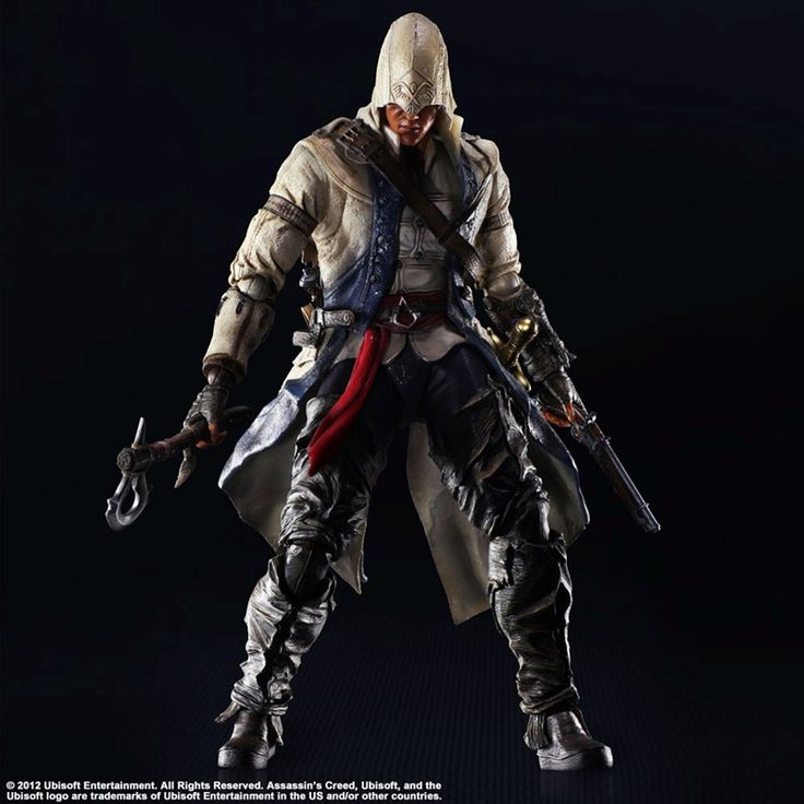 Assassin´s Creed III Action Figure Connor Kenway 28 cm