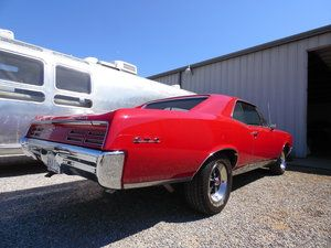 1967 Pontiac GTO - Along with the other work being completed, we will be repainting the engine, radiator, core support, and multiple areas within the interior of the vehicle. You need your car restored, contact us at http://texomaclassics.com