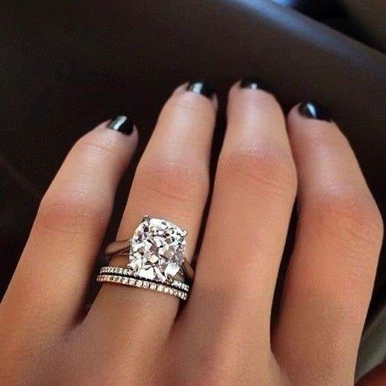 9 Stunning Cushion Cut Diamond Engagement Rings With Serious Sparkle